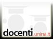 immagine homepage sito web docenti