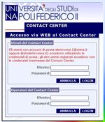 Immagine homepage sito web Contact Center