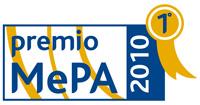 Logo premio Mepa 2010