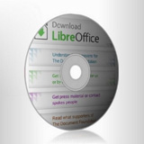 Immagine cd di LibreOffice
